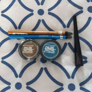 Selection Brand New Makeup (Maybelline/Rimmel)