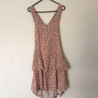 Medium Floral Summer Dress