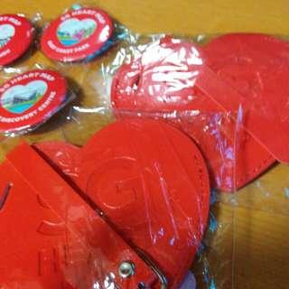 SG50 SG Heart Map & Luggage Tag