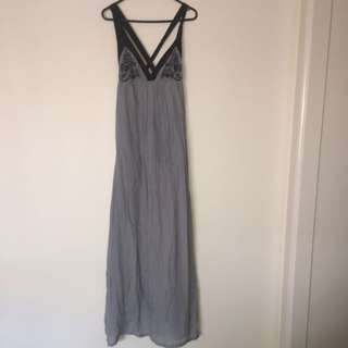 Sz 6 Harvey Who? Grey Maxi