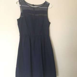 Size 10 Navy Forever New Dress