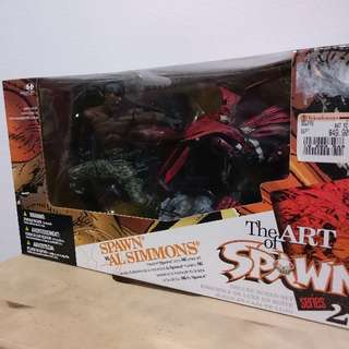 The Art of Spawn Series 27 Spawn vs Al Simmons Action Figure Box Set