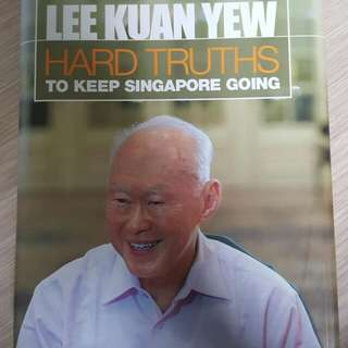 Lee Kuan Yew The Hard Thruth Book $15- SOLD Rich Dad Poor Dad $6 War Twins $5