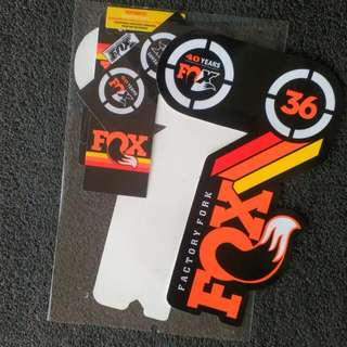 FOX 36 Heritage 2015 Fork Suspension Factory Decal Sticker Adhesive Rainbow