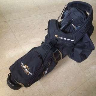 Cobra Golf Stand Bag With Back Carry Strap