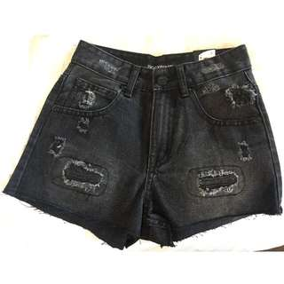 High Waist ZIGGY.DENIM Shorts