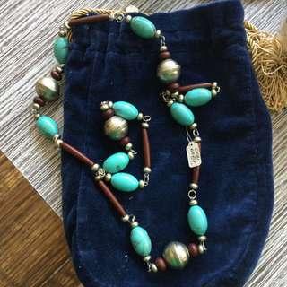 Preloved Long Tribal Necklace