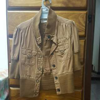 Cotton ON 3/4 Sleeves Jacket Size Small