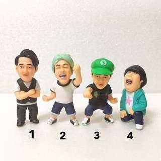 日本 最新 盒玩 盒抽 搞笑藝人 公仔 人物