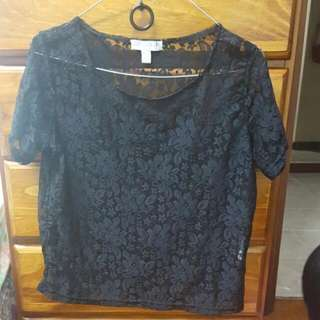 Cotton On Lacey Top Size Small