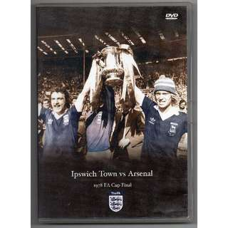 FA Cup Final 1978 DVD - Ipswich Town vs Arsenal