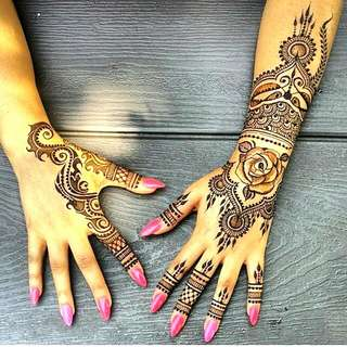 Henna And Body Art Products