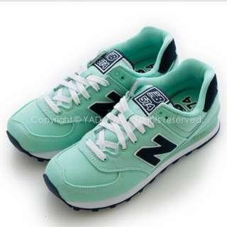 👟👟New Balance 574 女鞋 (蘋果綠)