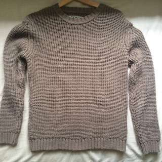Knitted Sweater Outwear Casual