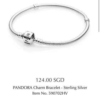 Brand New Pandora Charm Bracelet
