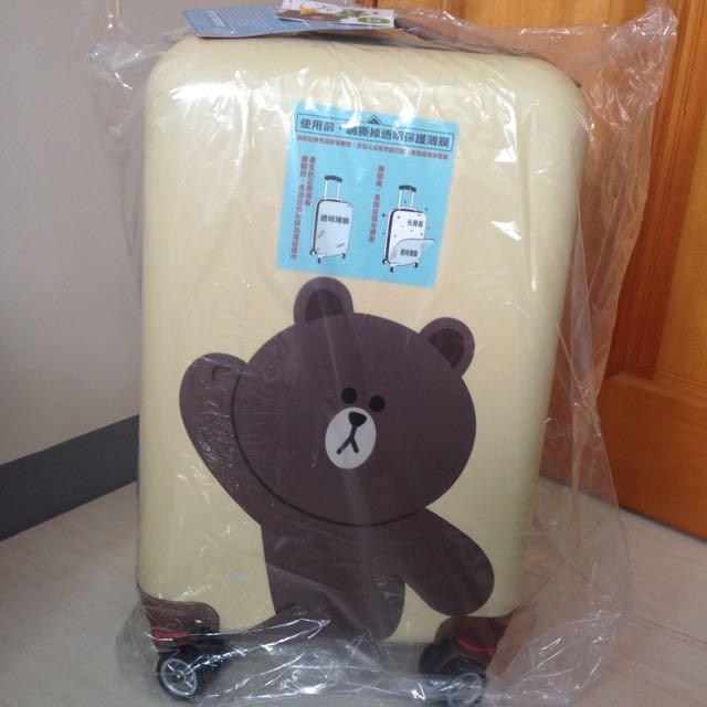 ❤️熊大 20吋登機旅行箱 TSA美國海關鎖
