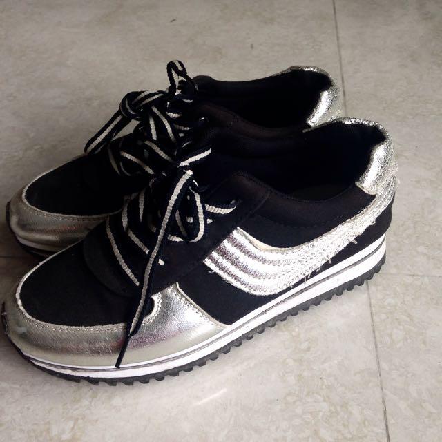 韓版運動鞋 運動鞋 慢跑鞋 內增高 厚底