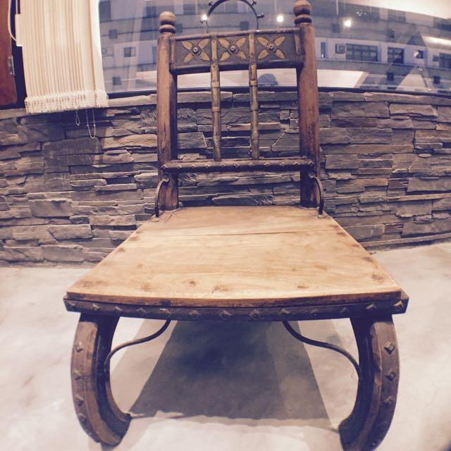 中世紀 古董椅(市面上極稀有)