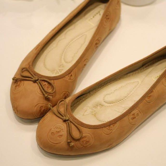 正韓 訂製款氣質娃娃鞋 氣墊
