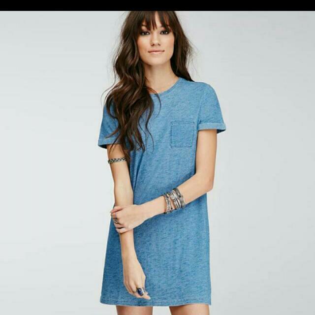 (Brand New ) 60s Denim Dress