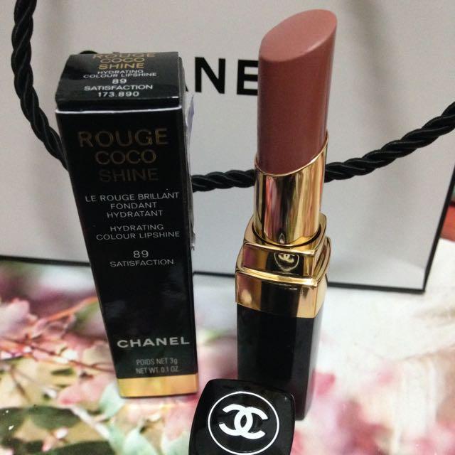 CHANEL ROUGE COCO SHINE #89 Satisfaction