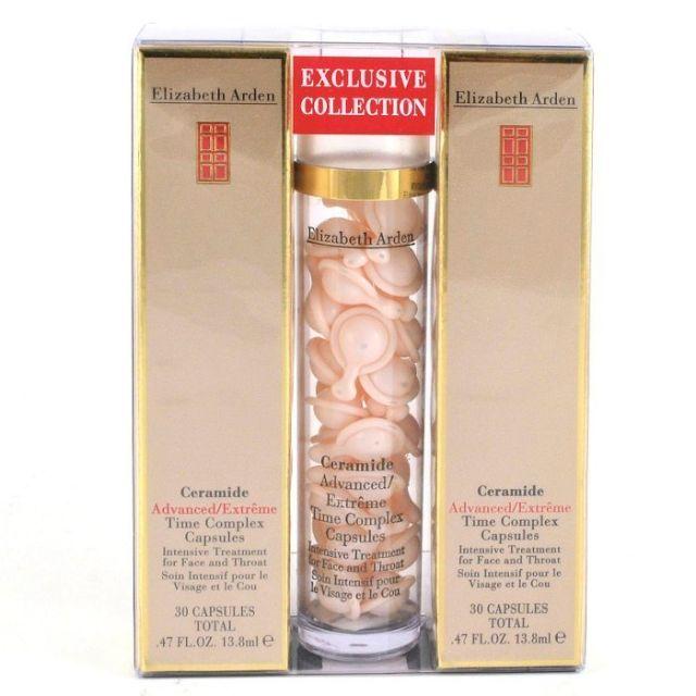 《小平頭香水店》Elizabeth Arden 雅頓 新生代時空臉部膠囊 90pcs (90顆)