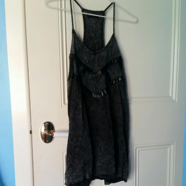 Grey Lose Fitting Dress