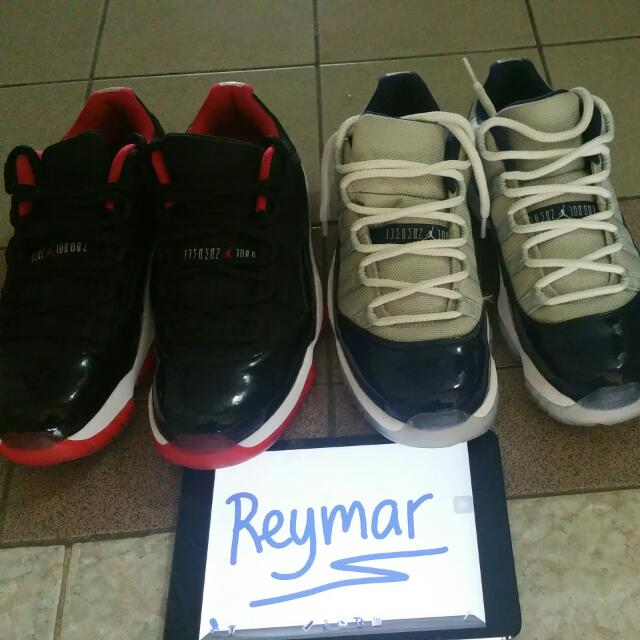 J11 low breds and J11 GT low