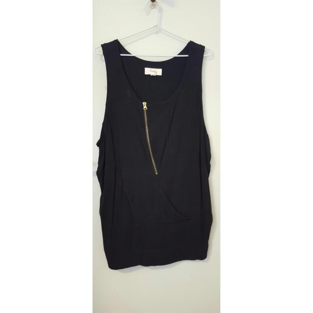 Kenji Black Shift Dress