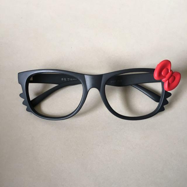 造型眼鏡-Kitty
