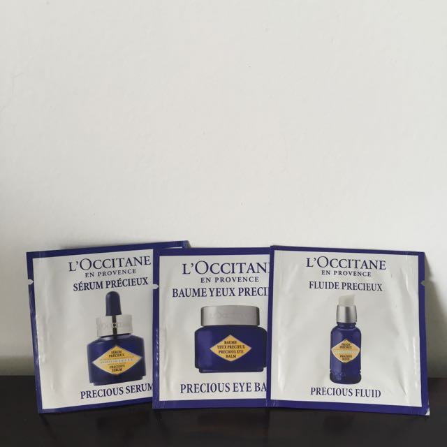 Loccitane Sample Set Precious Collection