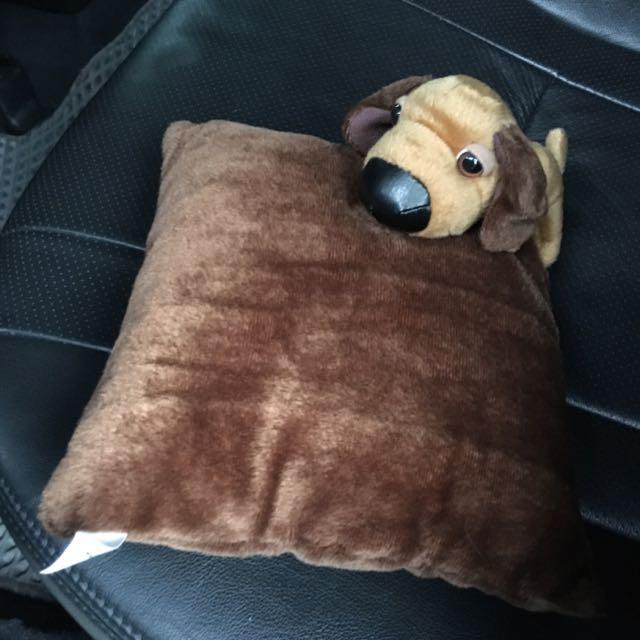 【M】臘腸狗小抱枕