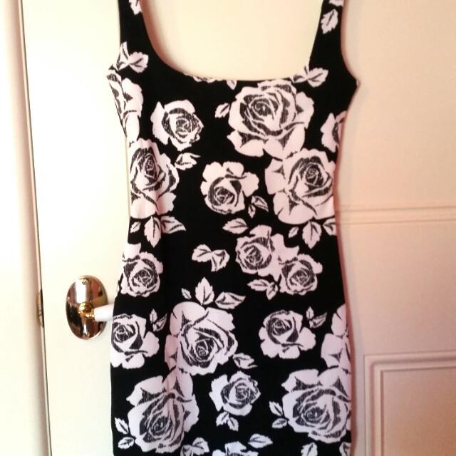 Missguided Floral Mini Dress