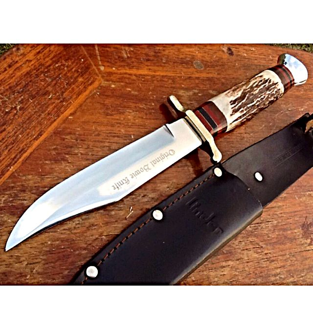 Original Bowie Knife LINDER MESSER GERMANY