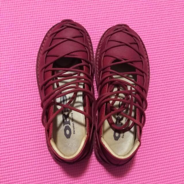 ORIS鞋(紅) 尺寸:7號