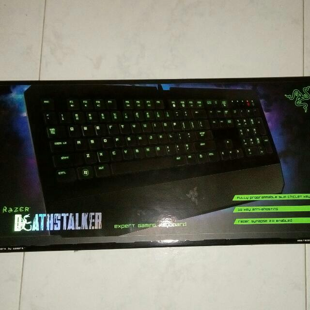 00cce866cd9 Razer Deathstalker Expert Gaming Keyboard, Electronics on Carousell