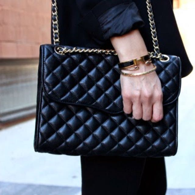 Rebecca Minkoff Quilted Affair Bag In Black Women S Fashion On Carou