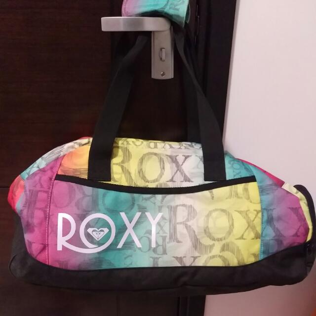 Roxy旅行袋🏄🏄🏄