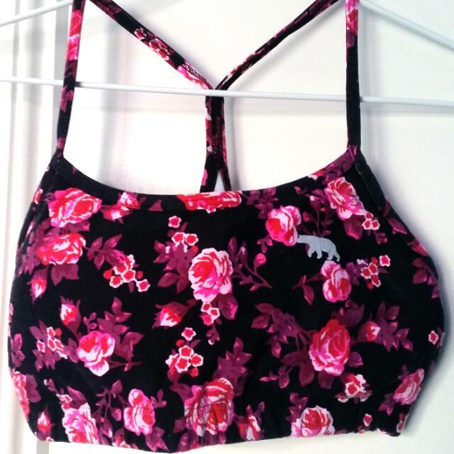 Running Bare Pink Flower Crop