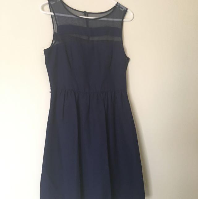 Size 10 Navy Forever New Dress