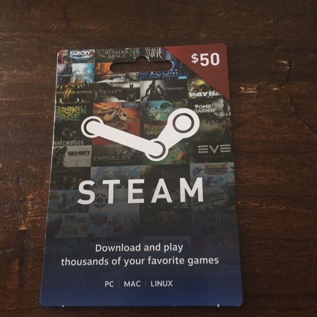 Steam $50 Card