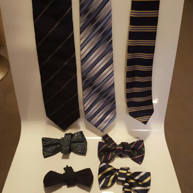 Ties And Bow Ties (7items)