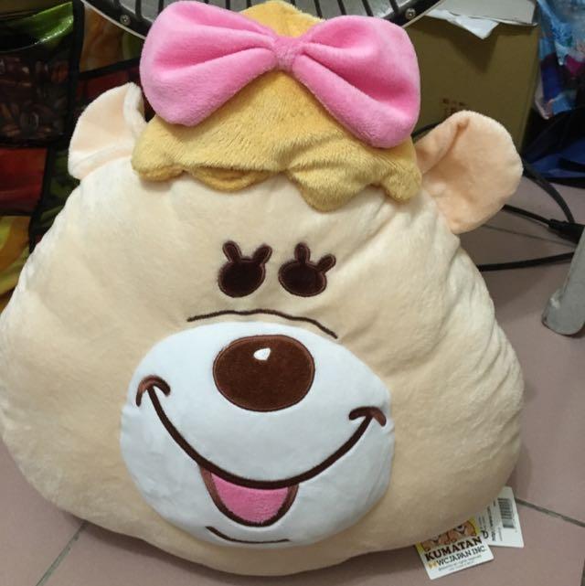 WC熊抱枕