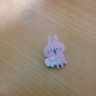 (日本帶回) Kanahei 兔兔和小雞夾子
