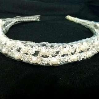 珍珠雙層新祕髮飾(全新)