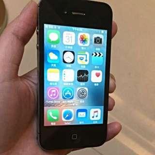 iPhone 4S 黑色 16G便宜賣!!