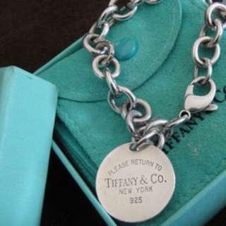 Tiffany圓牌手鍊