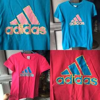 Adidas 女生短袖
