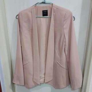 [404][二手]LOVFEE 粉色西裝外套 L
