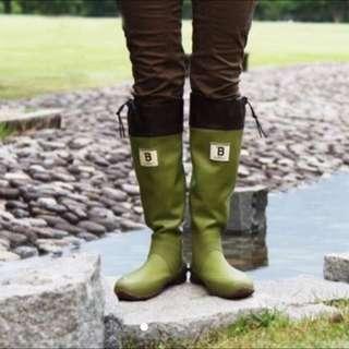 日本野鳥協會雨鞋 Wbsj 雨靴